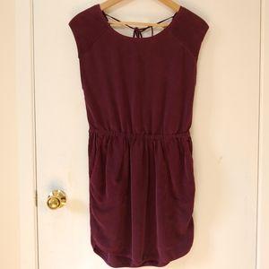 Wilfred Aritzia Burgundy/Plum Dress